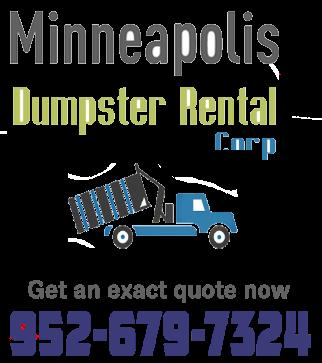Minneapolis dumpster rental services